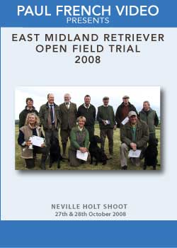 2008 East Midland 2 Day Open Retriever Field Trial