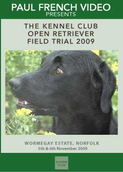 2009 Kennel Club 2 Day Open Retriever Field Trial