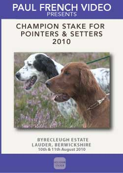 2010 Champion Stake for Pointer and Setter