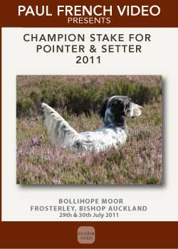 2011 Champion Stake for Pointer and Setter