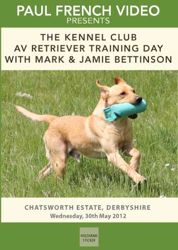 Kennel Club Novice AV Retriever Training Day with Mark and Jamie Bettinson